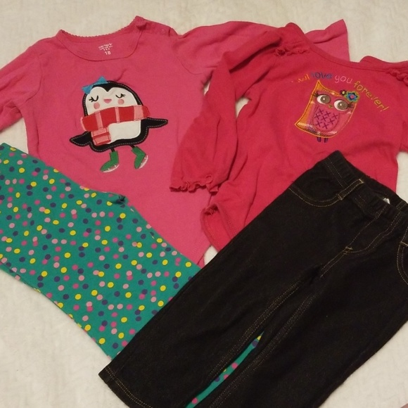 Other - 18m long sleeve onesies and pants